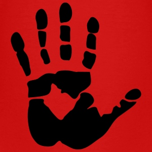 Handprint, high five Shirts - Kinderen Premium T-shirt