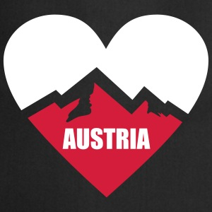 Austria Heart with Alps  Aprons - Cooking Apron