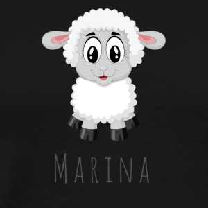 Marina Sheep - Männer Premium T-Shirt