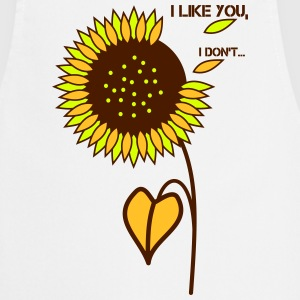 sunflower - I like you - Cooking Apron