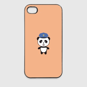 Panda-Polizist - Case Handy & Tablet Hüllen - iPhone 4/4s Hard Case