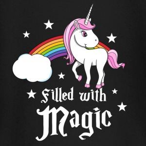 Unicorn - Filled with Magic Baby Long Sleeve Shirts - Baby Long Sleeve T-Shirt