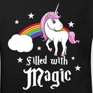 Unicorn - Filled with Magic Shirts - Kinderen Bio-T-shirt
