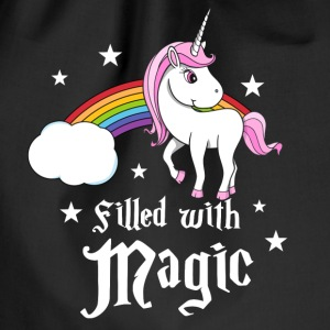 Unicorn - Filled with Magic Vesker & ryggsekker - Gymbag