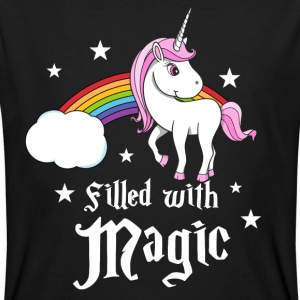 Unicorn - Filled with Magic T-Shirts - Men's Organic T-shirt