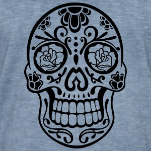 Sugar Skull, day of the dead - Männer Vintage T-Shirt