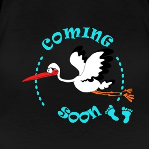 coming soon boy Tee shirts - T-shirt Premium Femme