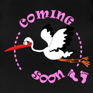 coming soon girl Tee shirts - T-shirt Premium Femme