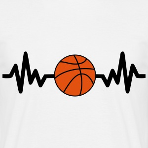 Basket is life, le basket c'est la vie - T-shirt Homme
