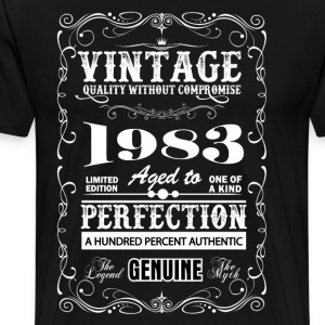 Premium Vintage 1983 Aged To Perfection T-Shirts - Men's Premium T-Shirt