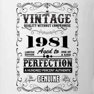 Premium Vintage 1981 Aged To Perfection Mugs & Drinkware - Mug