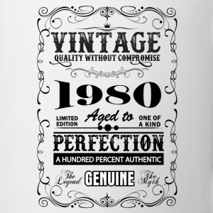 Premium Vintage 1980 Aged To Perfection Mugs & Drinkware - Mug