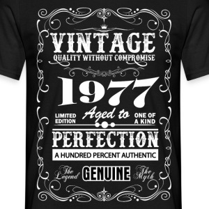 Premium Vintage 1977 Aged To Perfection T-Shirts - Men's T-Shirt