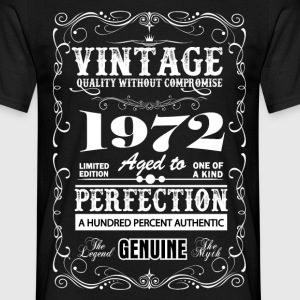Premium Vintage 1972 Aged To Perfection T-Shirts - Men's T-Shirt