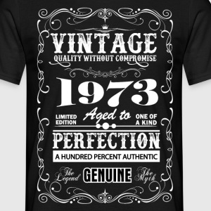 Premium Vintage 1973 Aged To Perfection T-Shirts - Men's T-Shirt