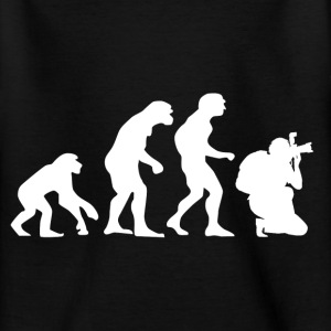 The evolution of photography Shirts - Teenage T-shirt