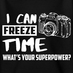 I can freeze time! What's your supernatural ability? Shirts - Teenage T-shirt