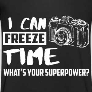 I can freeze time! What's your supernatural ability? T-Shirts - Men's V-Neck T-Shirt