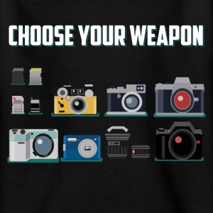 Choose your weapon! Shirts - Teenage T-shirt
