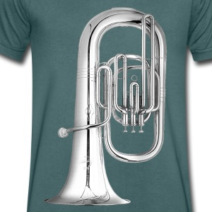 Tuba T-Shirts - Men's V-Neck T-Shirt