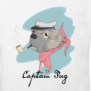Captain Pug Shirts - Kids' Organic T-shirt