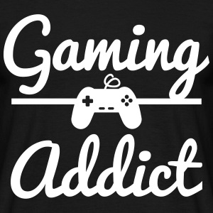 Gaming Addict,geek,gamer,nerd T-Shirts - Männer T-Shirt
