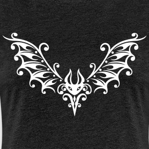 Tribal Fledermaus, bat - Frauen Premium T-Shirt