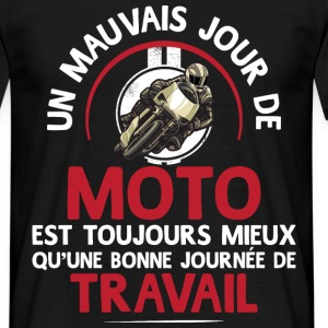 travailoumoto.png Tee shirts - T-shirt Homme