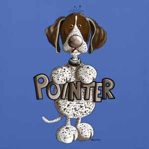 Happy German Shorthaired Pointer Bags & Backpacks - Tote Bag