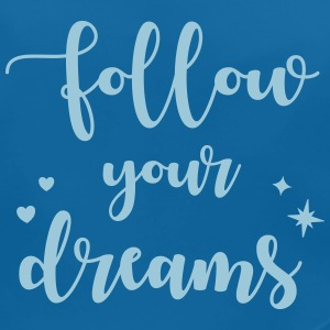 Follow your dreams Baby slabbetjes - Bio-slabbetje voor baby's
