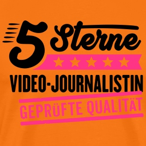 5Sterne Video-Journalistin - Männer Premium T-Shirt