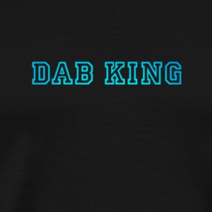 dab dabbing King Football touchdown cool fun sport - Männer Premium T-Shirt