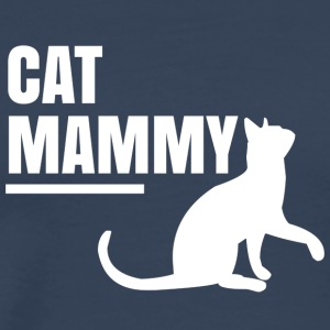 Cat mammy - Männer Premium T-Shirt