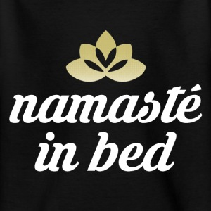 Namaste i sengen T-shirts - Teenager-T-shirt