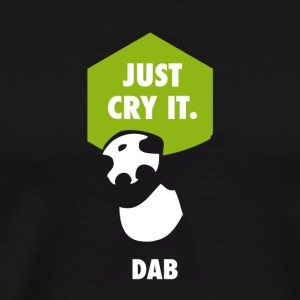 dab cry panda dabbing touchdown just cry it funny - Männer Premium T-Shirt