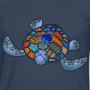 Sea turtle t-shirt for men - Men's Premium Longsleeve Shirt
