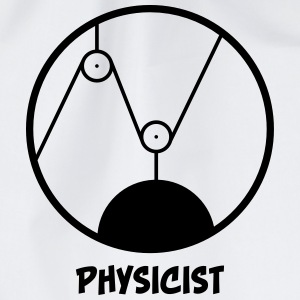 Physicist - physicist Bags & Backpacks - Drawstring Bag