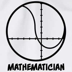 Mathematician - mathematician Bags & Backpacks - Drawstring Bag
