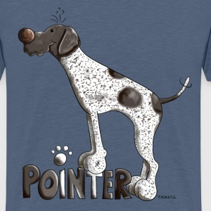 Cute German Shorthaired Pointer Shirts - Teenage Premium T-Shirt