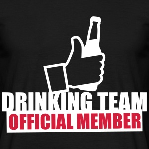 German Drinking team Mass Bier Beer Party - Camiseta hombre