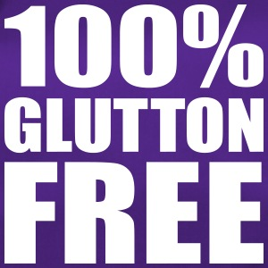 100% Glutton Free - Diet Humour Bags & Backpacks - Duffel Bag
