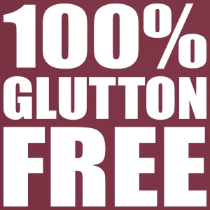 100% Glutton Free - Diet Humour  Aprons - Cooking Apron