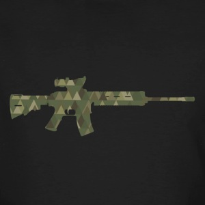 Assault rifle T-Shirts - Männer Bio-T-Shirt