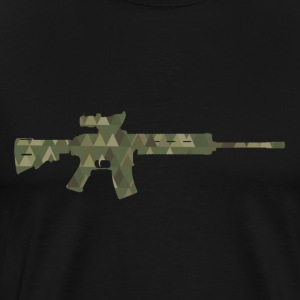 Assault rifle T-Shirts - Männer Premium T-Shirt