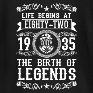 1935 - 82 years - Legends - 2017 Baby Long Sleeve Shirts - Baby Long Sleeve T-Shirt