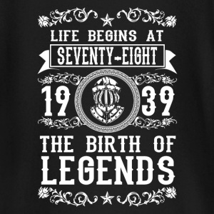 1939 - 78 years - Legends - 2017 Baby Long Sleeve Shirts - Baby Long Sleeve T-Shirt