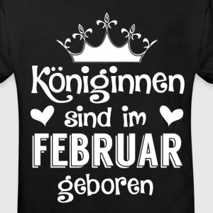 February - Queen - birthday 2 Shirts - Kids' Organic T-shirt