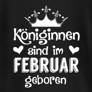 February - Queen - birthday 2 Baby Long Sleeve Shirts - Baby Long Sleeve T-Shirt