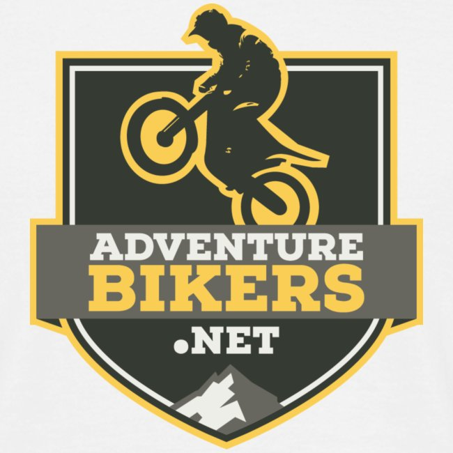 Adventure Bikers T Shirt - Shield logo