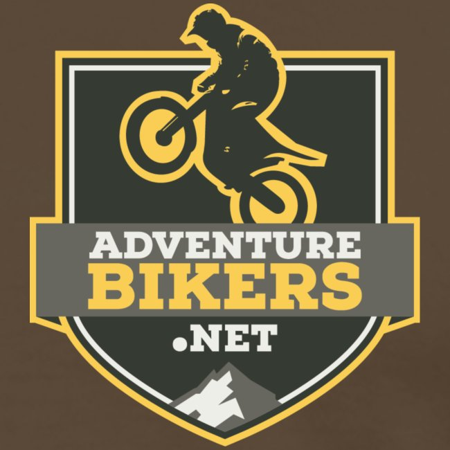 Adventure Bikers Premium T Shirt - Pocket Logo